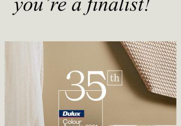 Dulux Colour Award Finalist