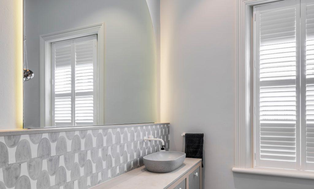 Heritage home renovation - bathroom