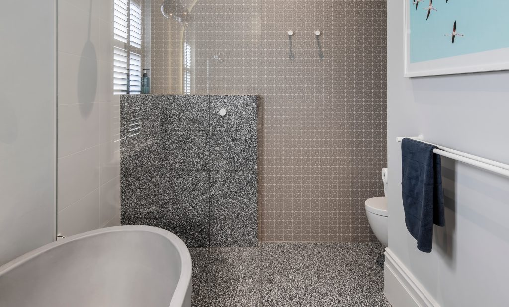 Heritage home renovation - shower