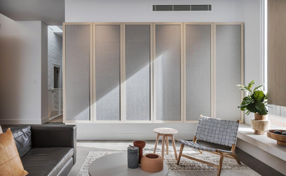 Heritage home renovation - storage